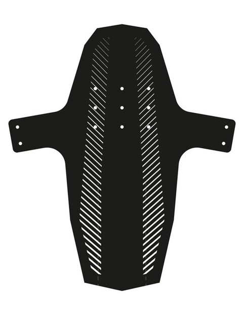 "Hebie Swap - Garde-boue - Front 26-29"" Stripes Folie blanc/noir"